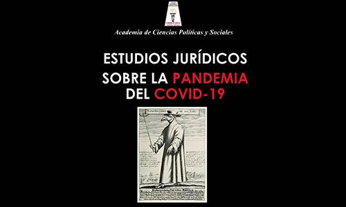 Reseña Bibliográfica a Estudios Jurídicos Sobre La Pandemia Covid-19